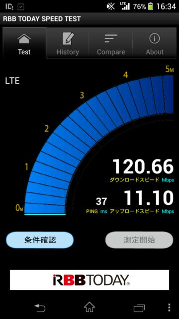 xperia-z1f-au-speedtest