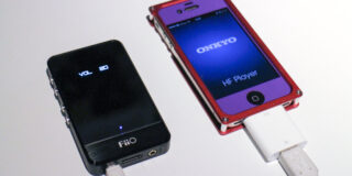 iPhone 4 with Fiio E-07K