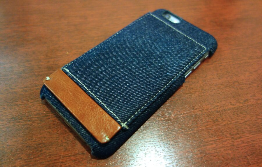 Simplism iphone 6 denim card case 5