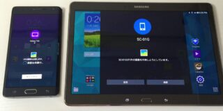 galaxy tab s note edge quick connect