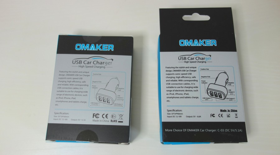 omaker car charger 2