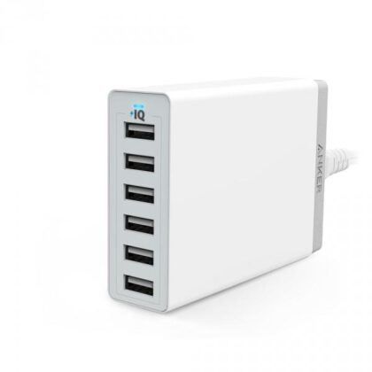 anker 60w 6port usb charger