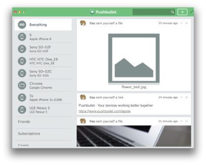 pushbullet mac