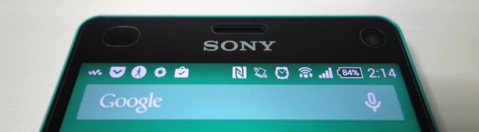 ray-out glass for xperia z3 compact 3