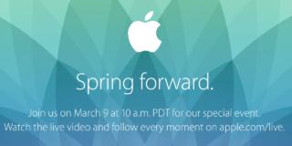 apple spring foward