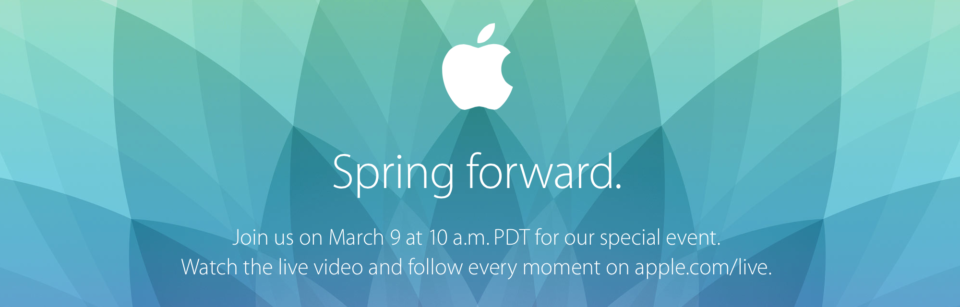 apple spring foward