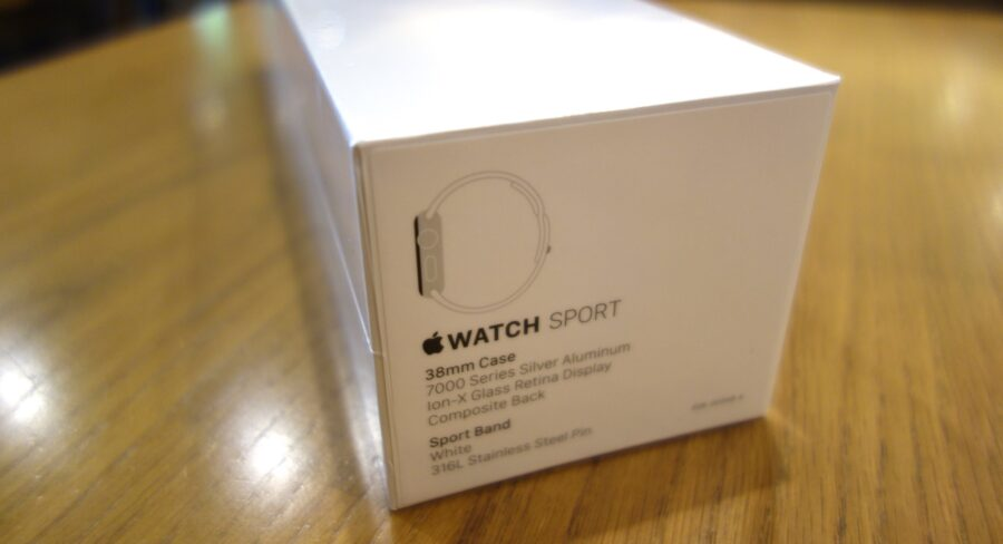 apple watch sport unboxing 01