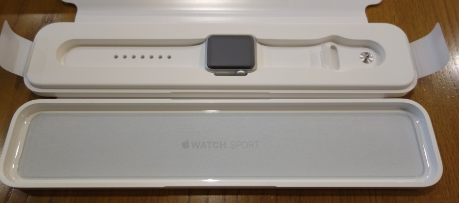 apple watch sport unboxing 10