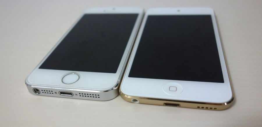 ipod touch and iphone 5s 1