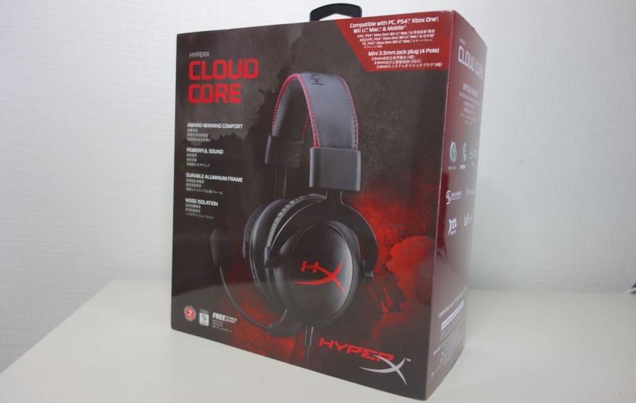 kingston HyperX Cloud Core 01