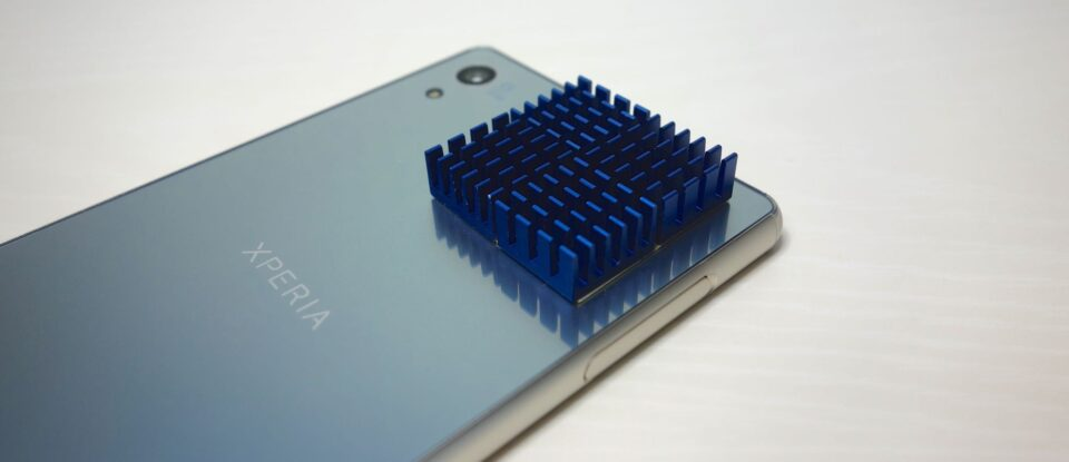 xperia z4 heat sink 3