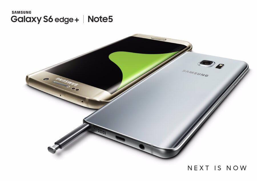 Galaxy S6 edge+_Note5_Gold_Silver_2P