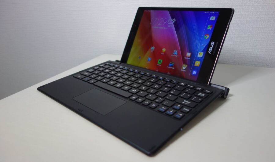 bkb50 with zenpad s and ipad air 2 1