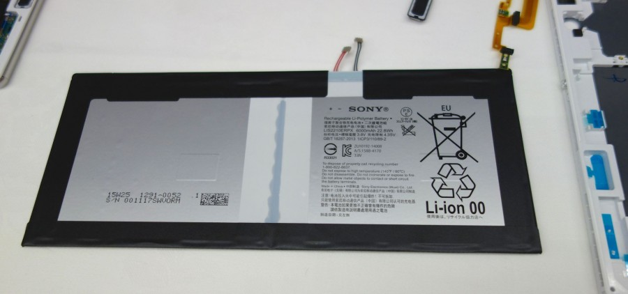 xperia z4 tablet battery 1