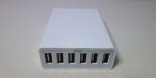 Aukey AIPower 50W 6port charger 4