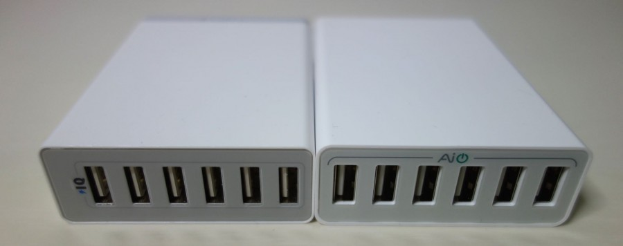 Aukey AIPower 50W 6port charger 6