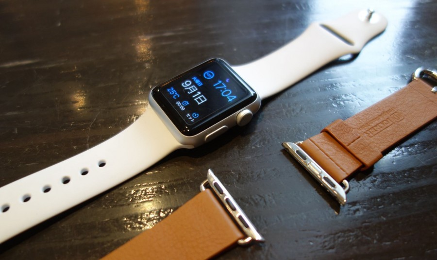 apple watch sport leather belt 03