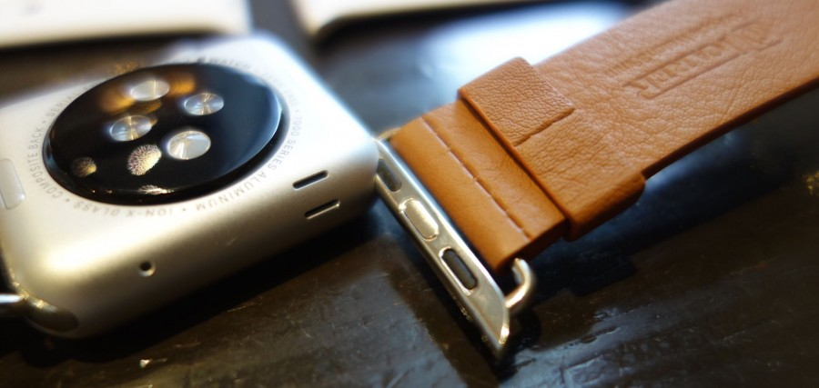 apple watch sport leather belt 05