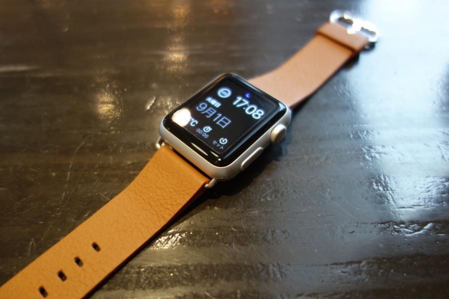 apple watch sport leather belt 06