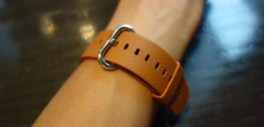 apple watch sport leather belt 08