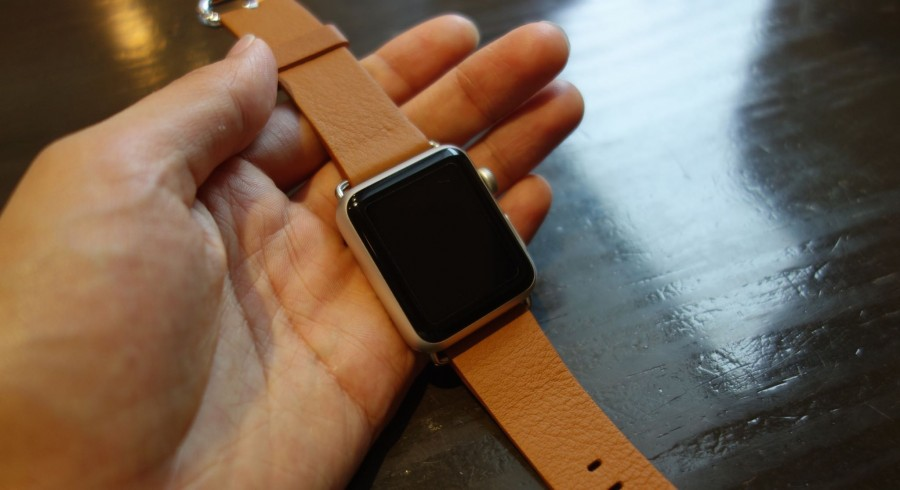 apple watch sport leather belt 09