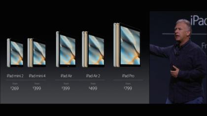 ipad price lineup