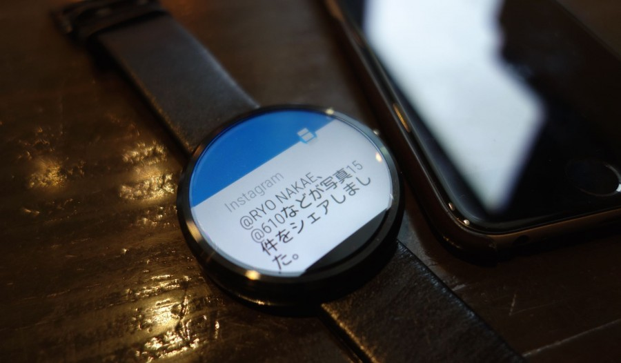 moto 360 with iphone 6 3