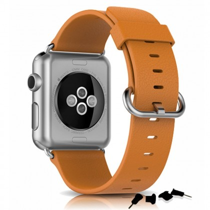 premium leather belt for apple watch 38mm