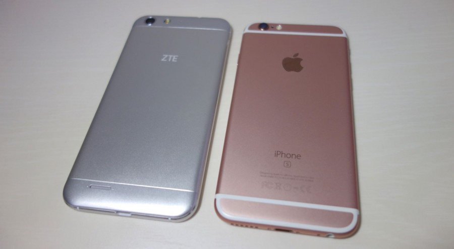 iphone and zte blade v6 1
