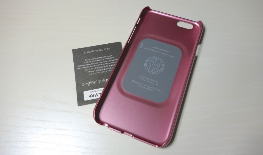 spigen thin fit metalic rose 2