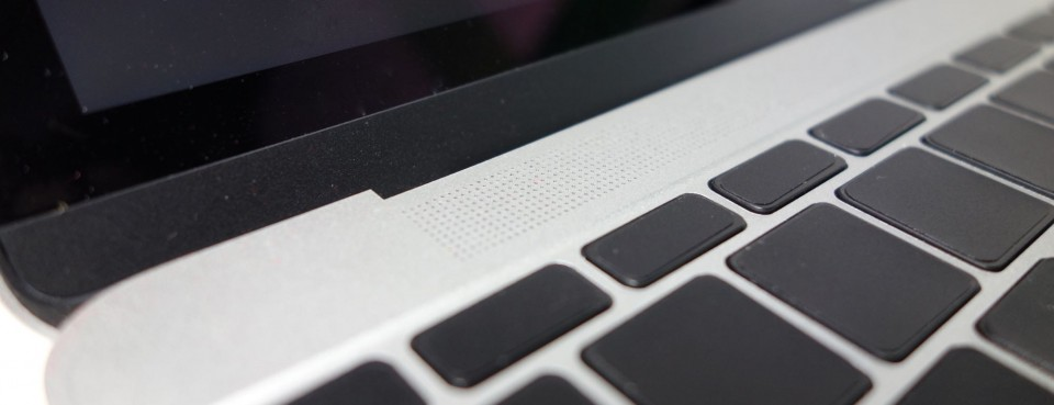 the new macbook speaker 1