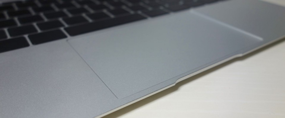the new macbook trackpad 1
