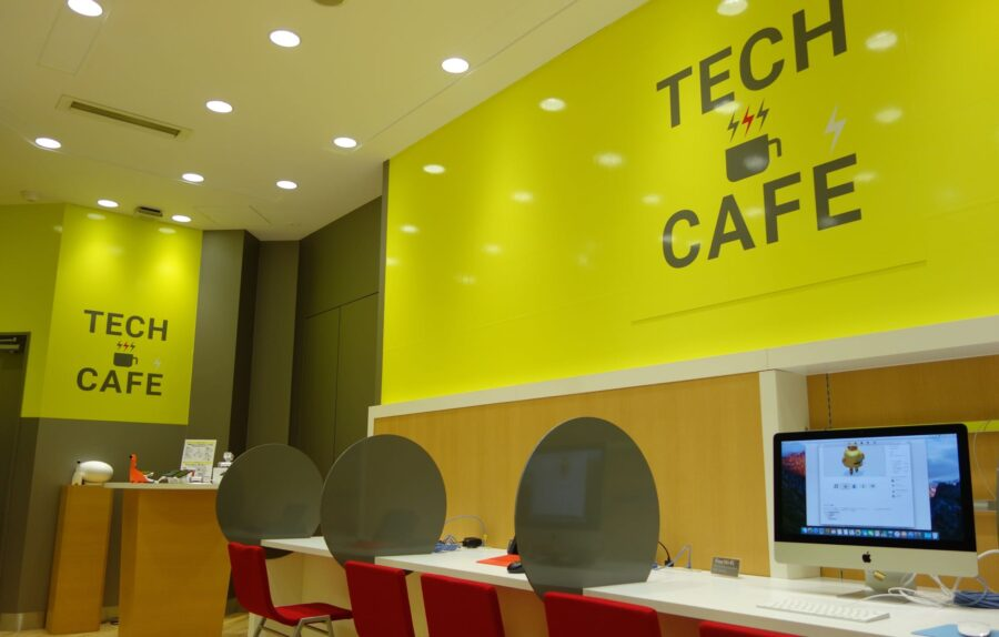 ymobile tech cafe 1