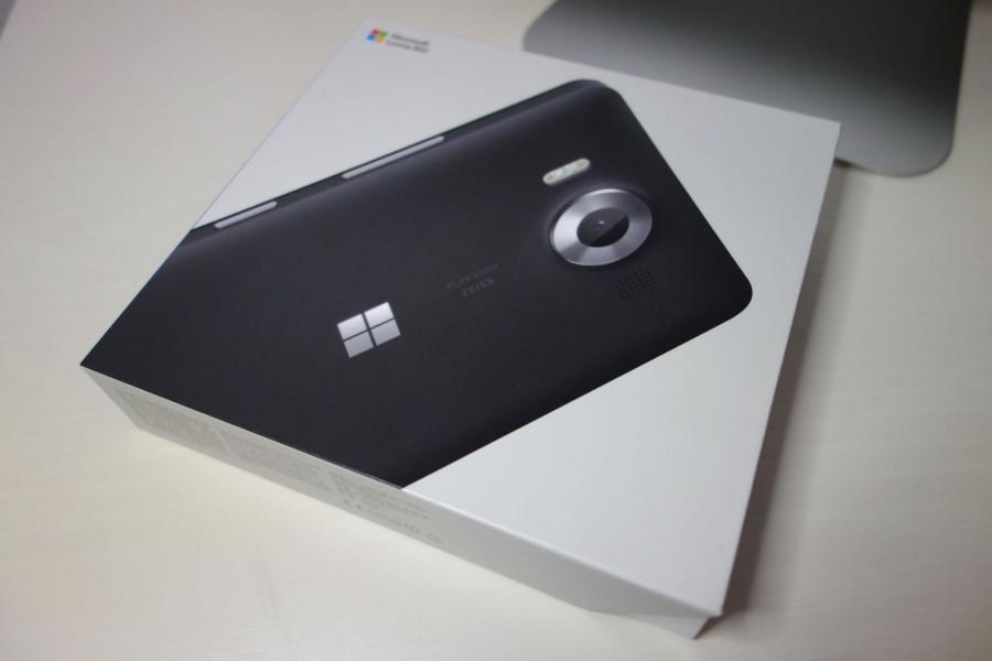 lumia 950 unboxing 1