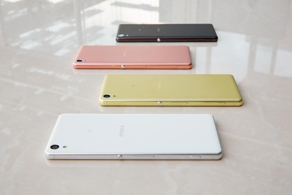 Xperia XA Colour Range