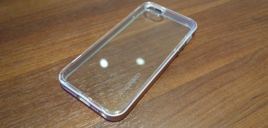 spigen neo hybrid crystal for iphone se 02