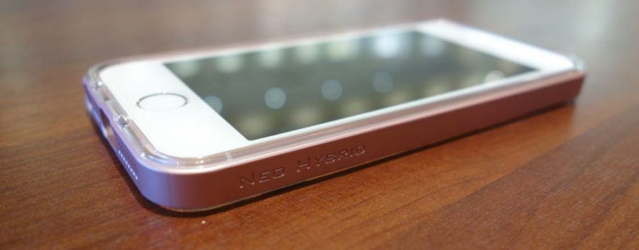 spigen neo hybrid crystal for iphone se 06