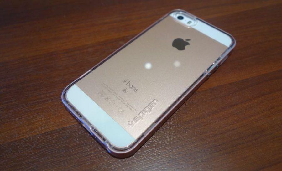 spigen neo hybrid crystal for iphone se 09