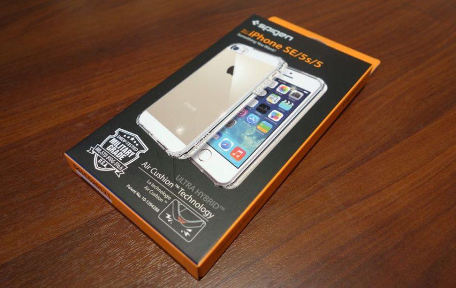 spigen ultra hybrid for iphone se 01