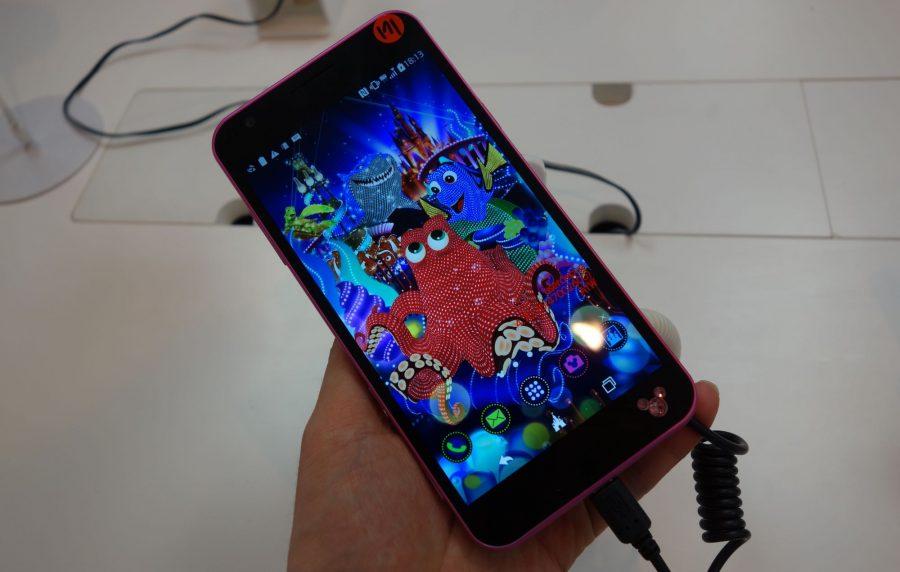 Disney Mobile on docomo DM-02H 7