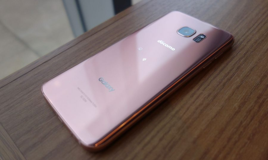 galaxy s7 edge sc-02h pink gold 07