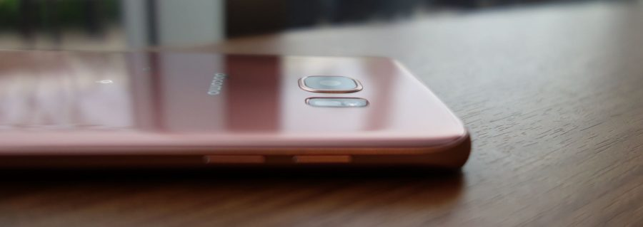 galaxy s7 edge sc-02h pink gold 10