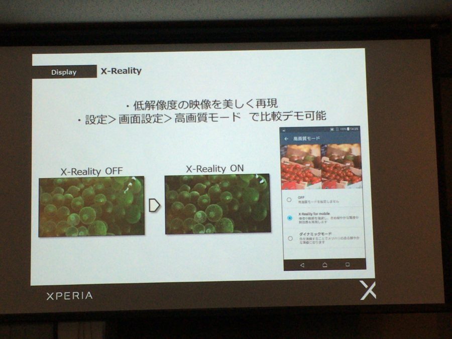 xperia xp event display 11