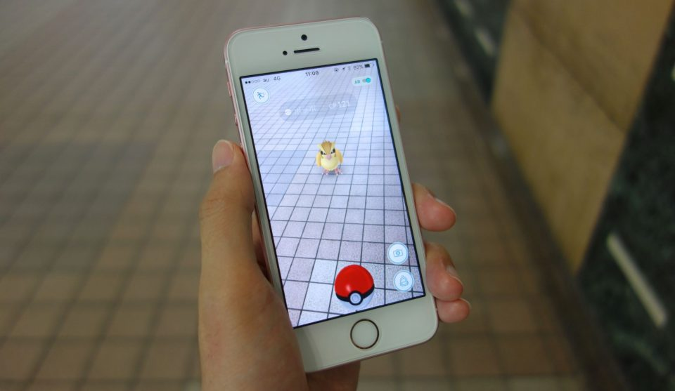 iphone se pokemon go 1