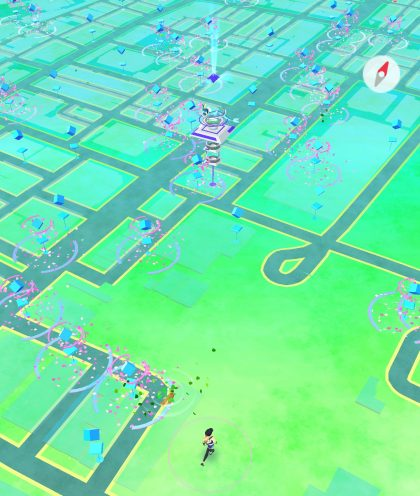 pokemon go in akihabara