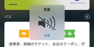 iOS 10.1 beta 1でビューカードを登録し消音したところ