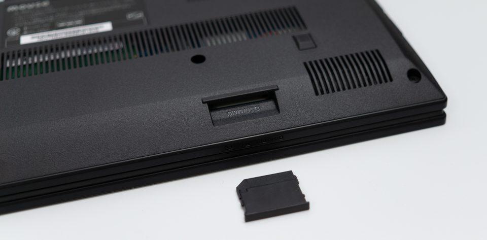 m-Book F536EN SDカードスロット