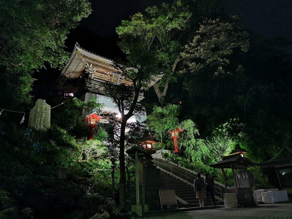 P20 Pro江ノ島夜景撮影作例