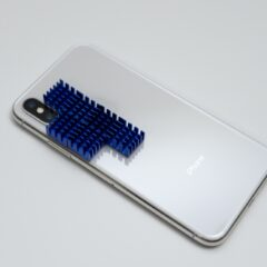 iPhone X ヒートシンク装着箇所
