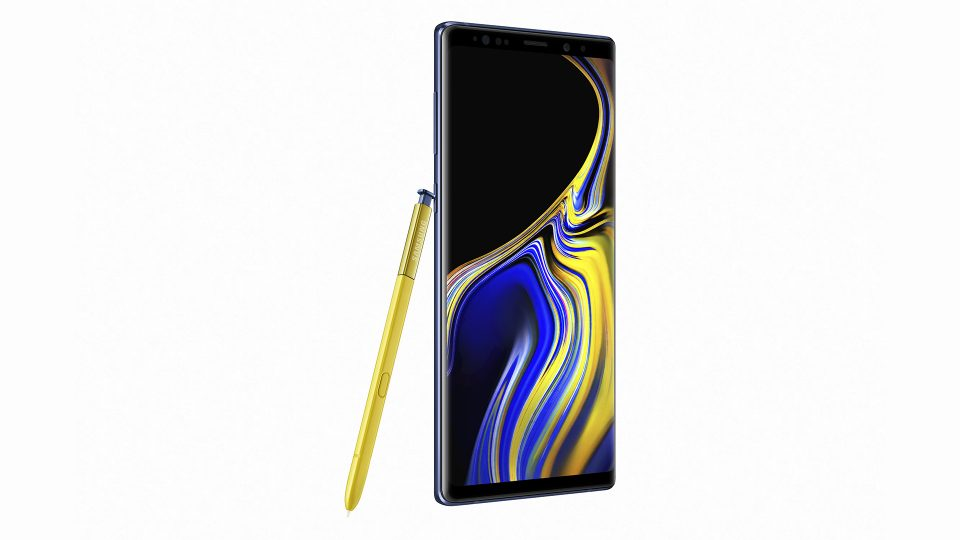 Galaxy Note9 blue